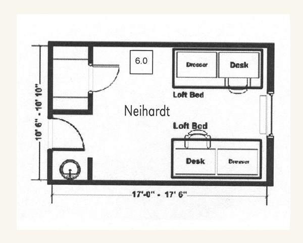 Neihardt Floor Plan