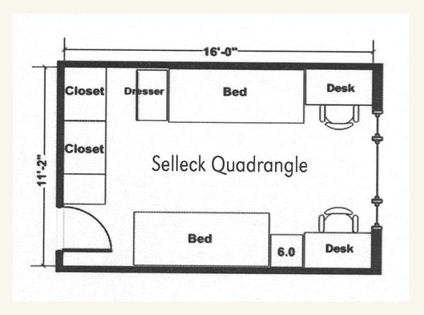 Selleck Quadrangle University Housing Nebraska