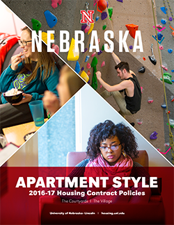 Apartment-style Housing Policies booklet cover image
