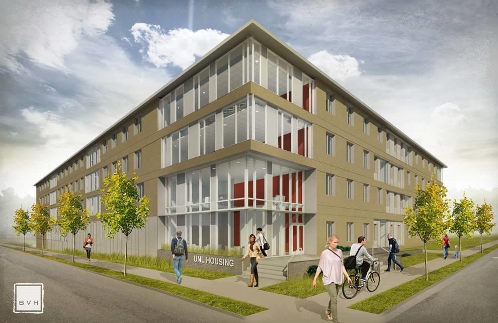 Massengale Residential Center rendering