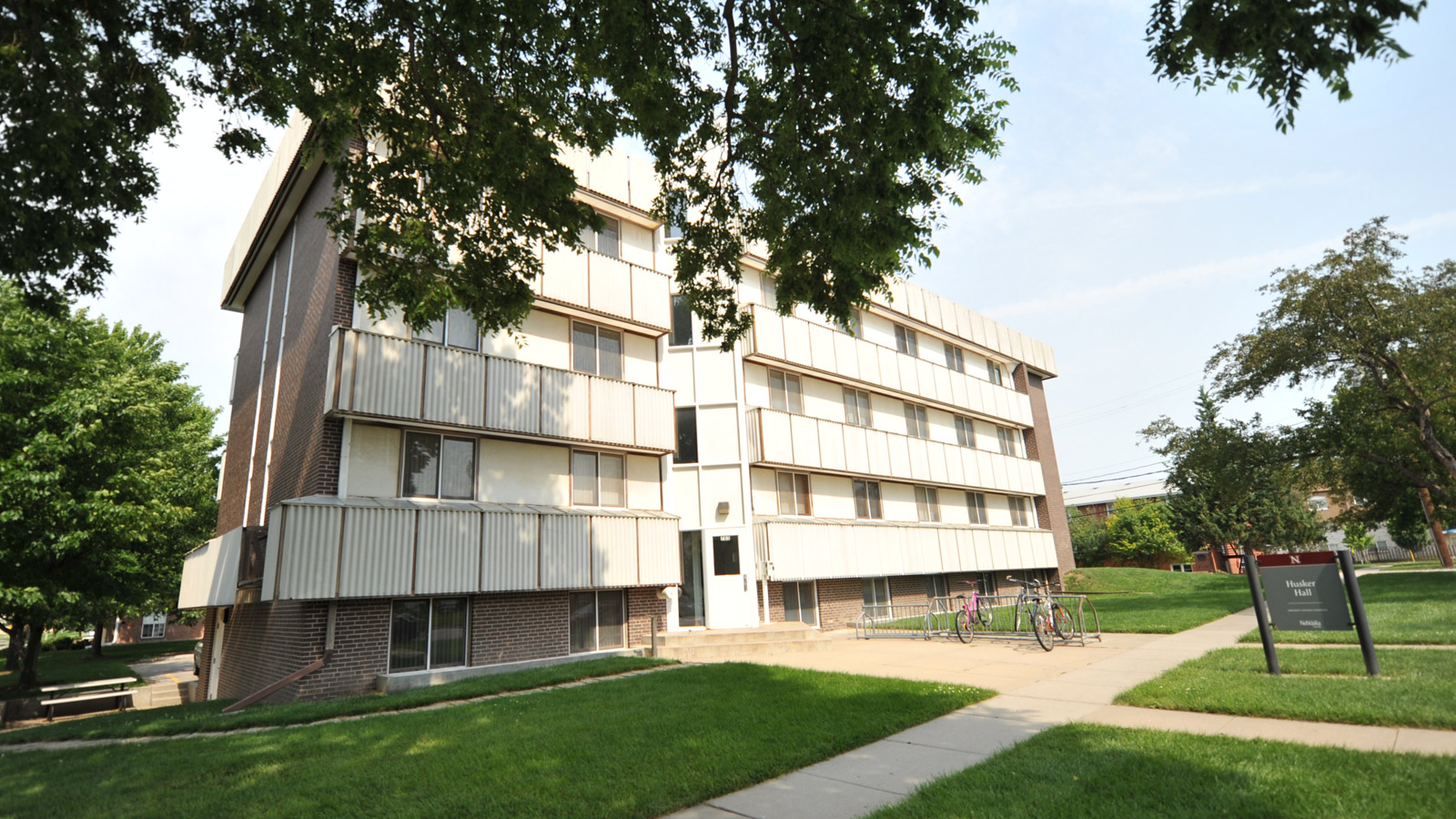 Husker Hall exterior photo