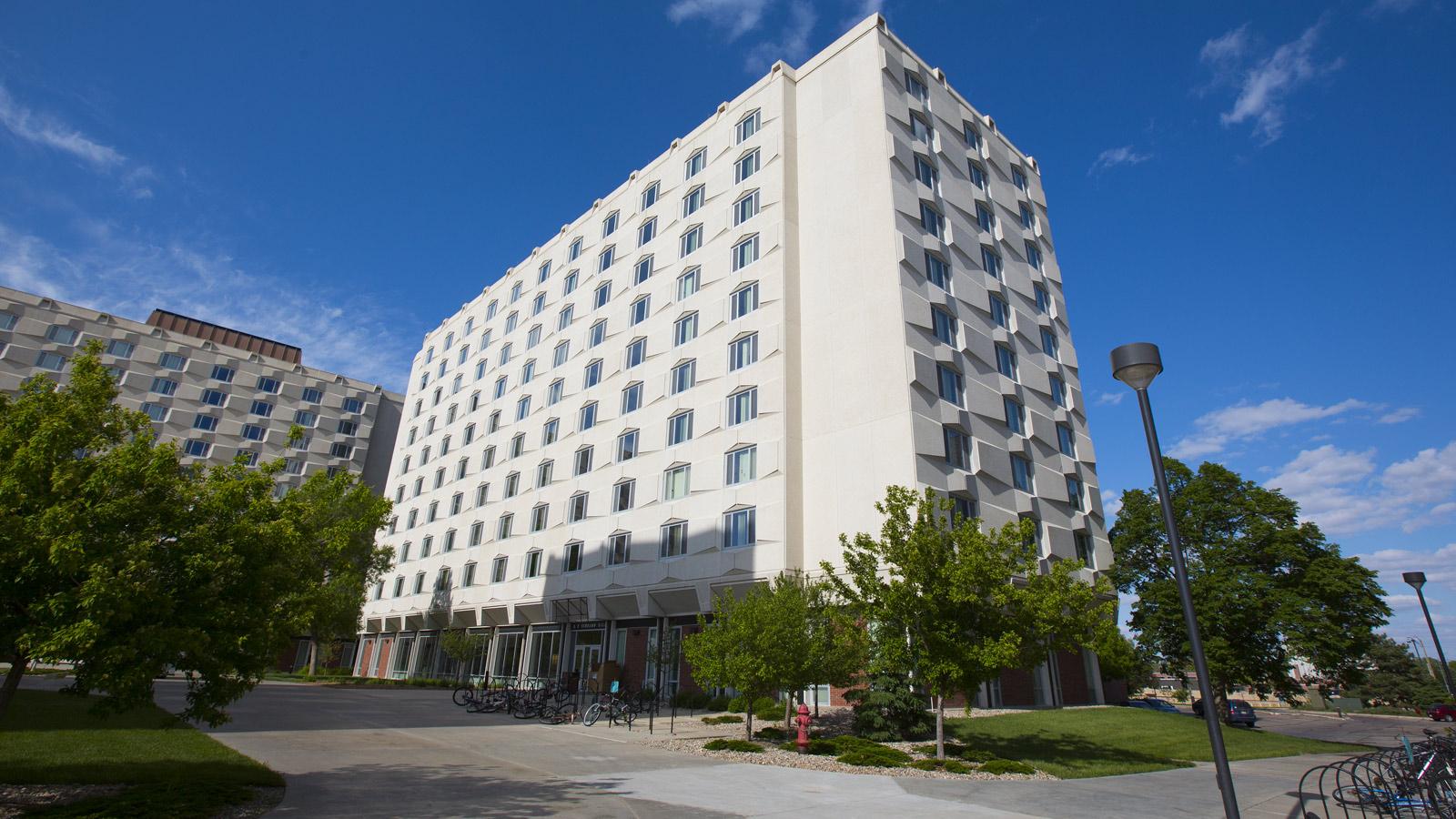 Schramm Hall University Housing Nebraska