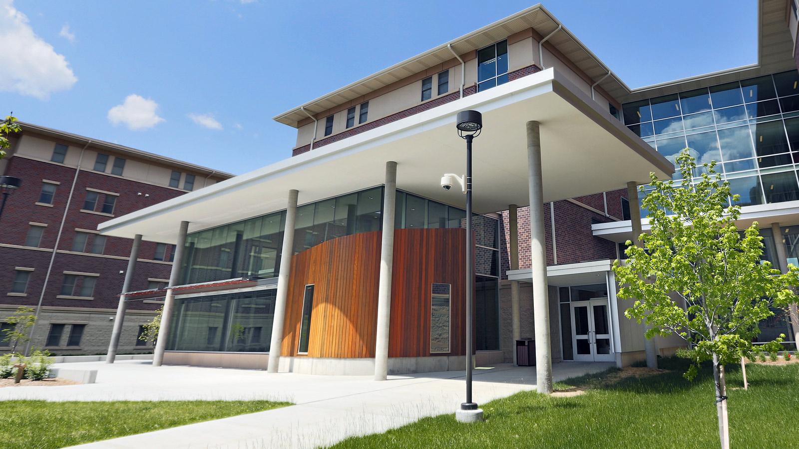 University Suites main entrance image