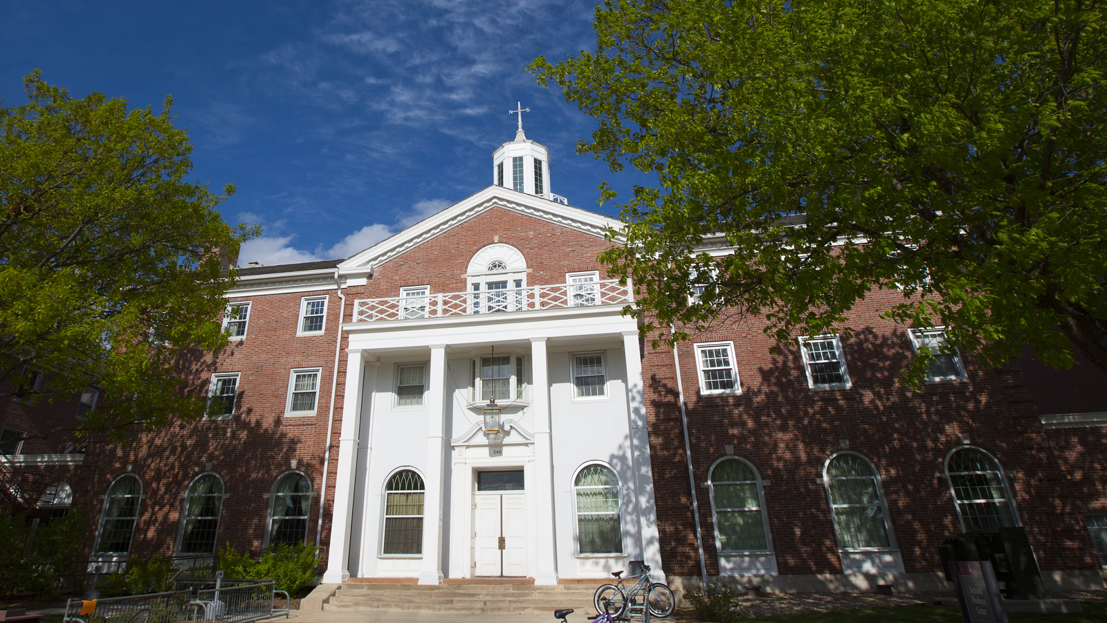 Neihardt Hall exterior photo